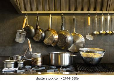 Kochtöpfe aus rostfreiem Stahl, Kochgeschirr