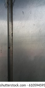 Stainless steel, dirty silver texture