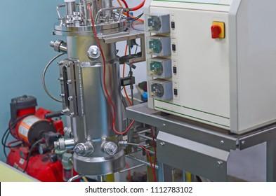 Stainless steel fermentor or fermenter or bioreactor 10L
