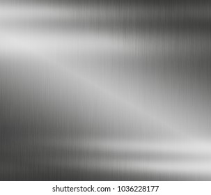 Stainless steel plate metal background