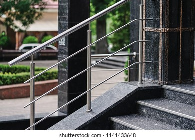 Stainless Steel Railings Images Stock Photos Vectors Shutterstock