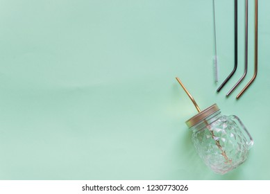 Stainless steel straw for reusable