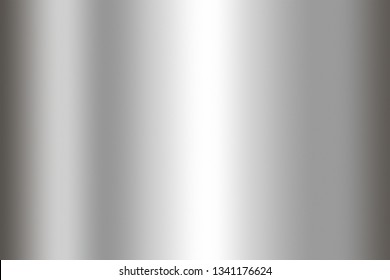 Stainless steel texture background. Shiny surface of metal sheet.