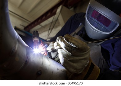 stainless steel welder