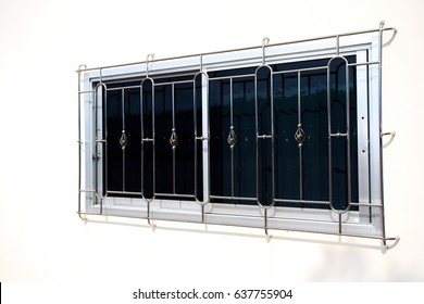 Stainless Steel Window Grilles
