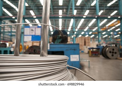 Stainless wire factory with soft shutter