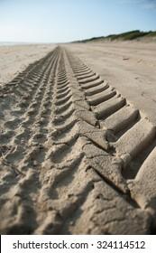 Stair in the beach