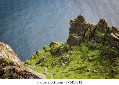 stair at skellig michael