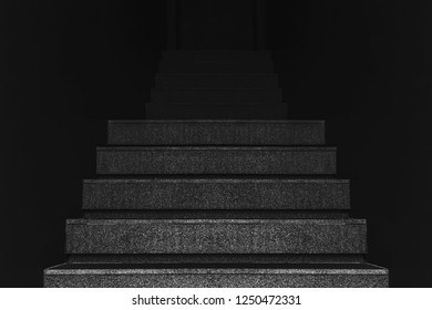 stair steps in the dark