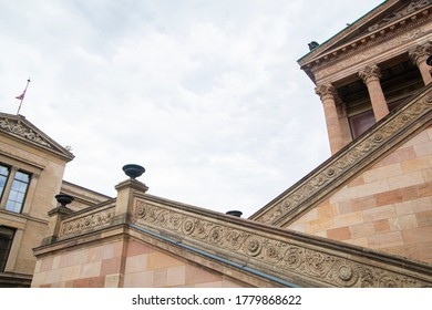 Staircase to a Alte Nationalgalerie in Berlin