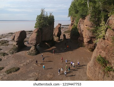 Staircase Cove, Hopewell Rocks, Bay of Fundy, New Brunswick