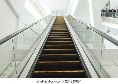 staircase elevator in thailand airport