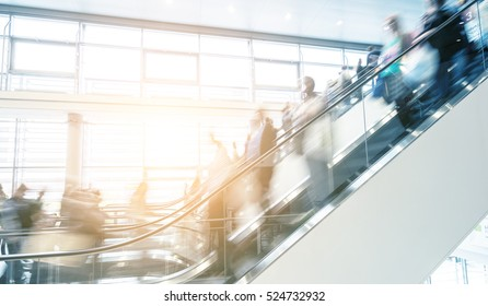 staircase at a fair traide