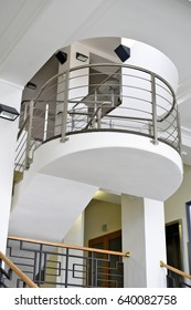 Staircase of a modern building