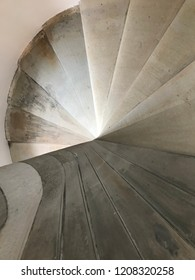 staircase old spiral