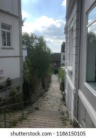 Staircase quarter in Hamburg-Blankenese