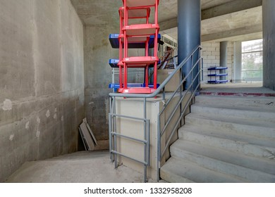 Staircase Construction Images, Stock Photos & Vectors