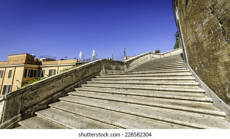 Staircase of the Spanish Steps, Rome