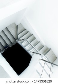 staircase stairway to the blackhole