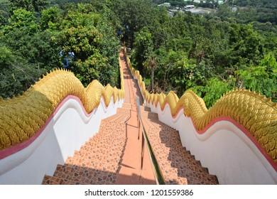 The Staircase Wat Doi Kham Chiang Mai Thailand