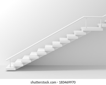 Stairs Abstract Background