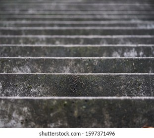 Stairs. Abstract steps. Stairs in the city. Granite stairs. Stone stairway often seen on monuments and landmarks, wide stone stairs. - Shutterstock ID 1597371496