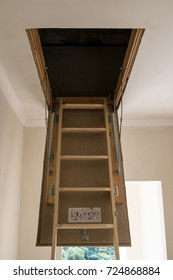 Stairs to the attic.