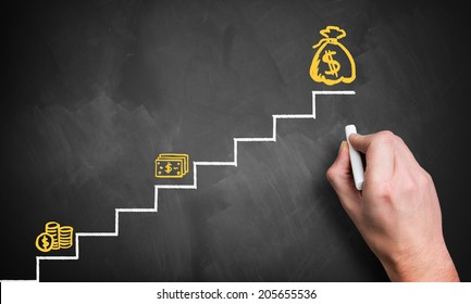 stairs to the big money