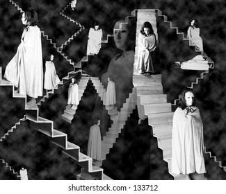 Stairs Black