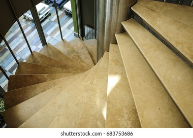 Stairs in a building