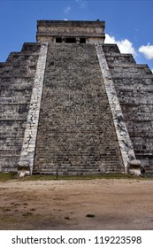 the stairs of chichen itza temple,kukulkan ,el castillo,quetzalcoatl
