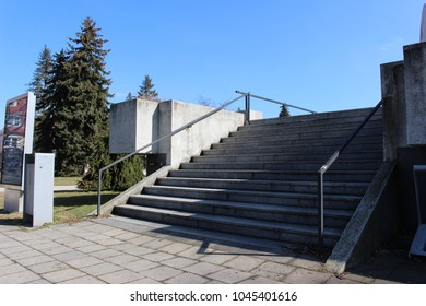 stairs to cinema