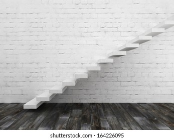Stairs up concept