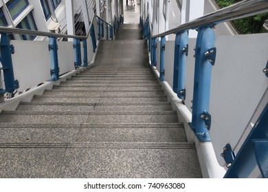 Stairs down to the ground