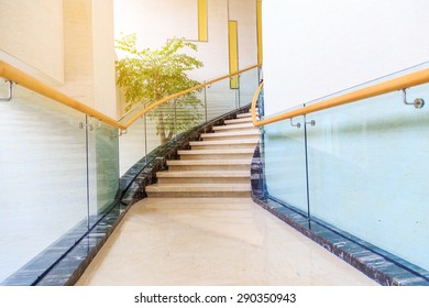 stairs in hotel