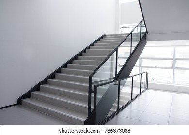Stairs inside the building