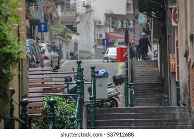 Stairs in Macau