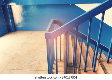 Stairs of a modern building.