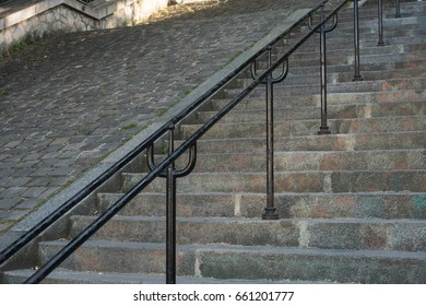 Stairs in Montmartre, Paris