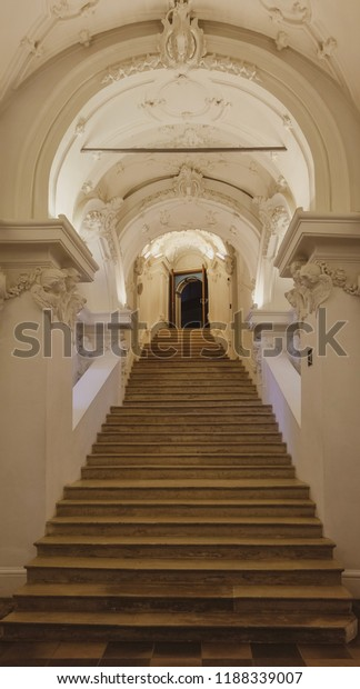 stairs in New Jerusalem Monastery.