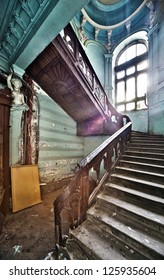 Stairs in Odessa ancient building