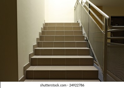 Stairs on staircase