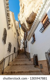 Stairs in Setenil de las Bodegas