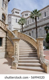 Stairs in the streets of Monaco