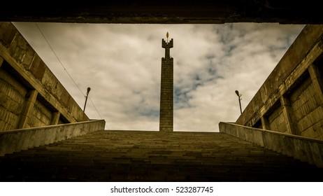 Stairway to Cascade complex Colonnade, Yerevan, Armenia