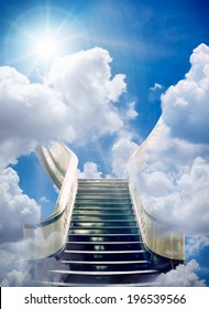 an stairway to heaven background