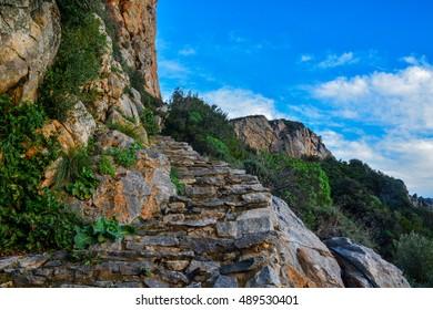 Stairway to Heaven, Mount Athos