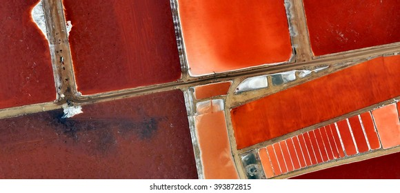 Stairway to hell, abstract photography of the deserts of Africa from the air, bird's eye view, abstract expressionism, contemporary art, optical illusions,