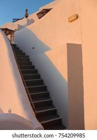 Stairway in Santorini, Greece