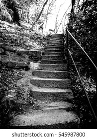Stairways in black & white